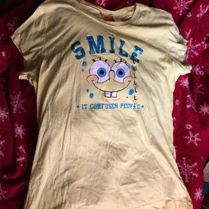 NWT SpongeBob Graphic Tee